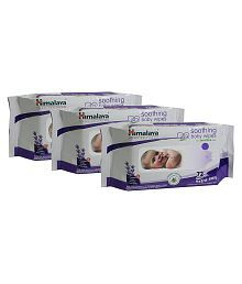 Himalaya Soothing Baby Wipes 72 pcs- Pack of 3