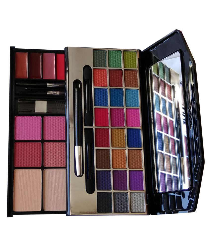 Miss Claire Eye Shadow, Blusher, Compact Powder, Lip Gloss Makeup Kit 62.80 Gm