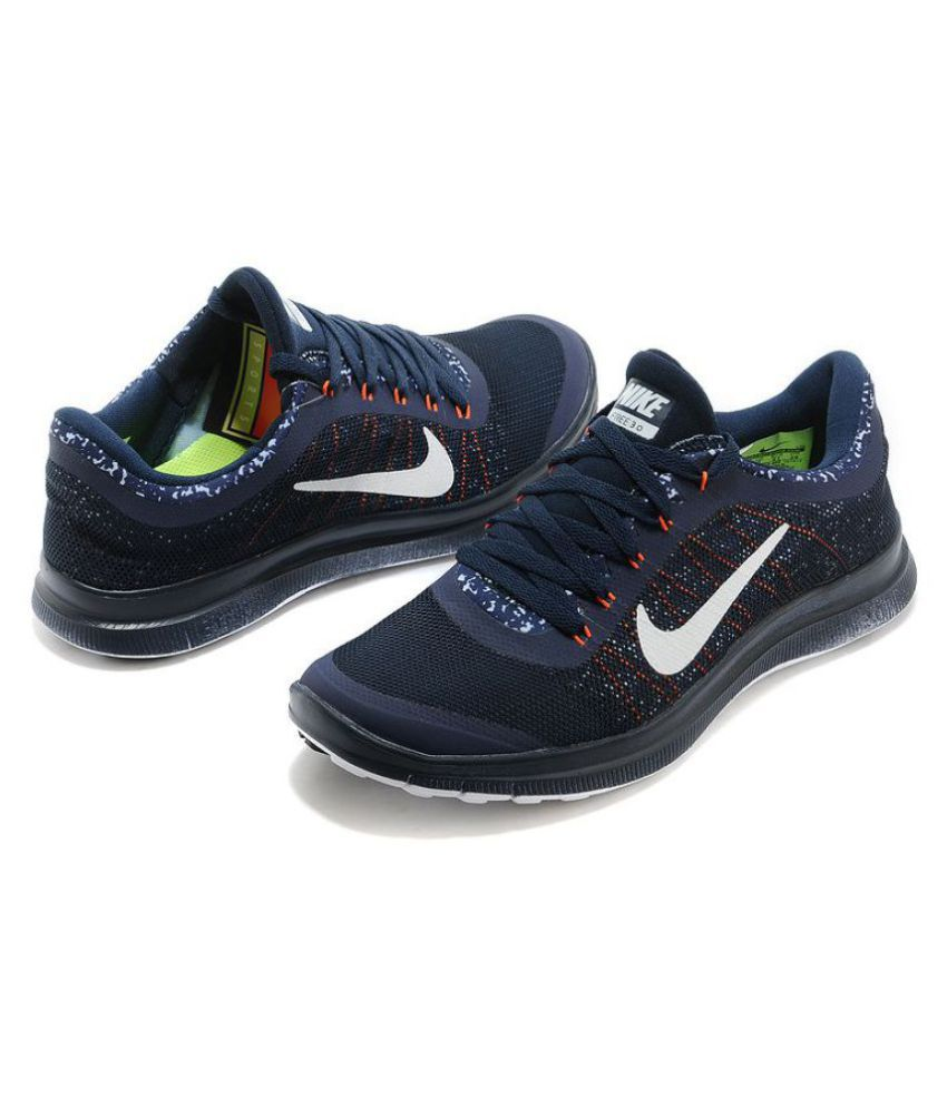 ... Nike 1 3.0 Navy Running Shoes ...