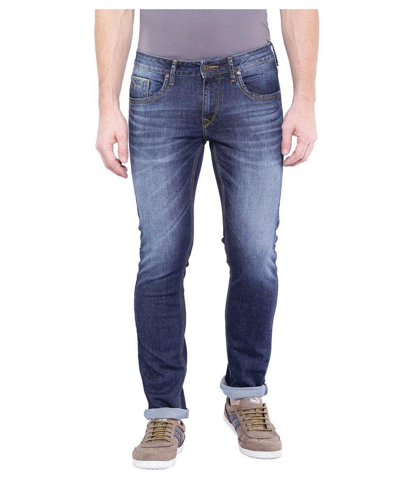 Flying Machine Blue Regular Fit Jeans - Buy Flying Machine ...