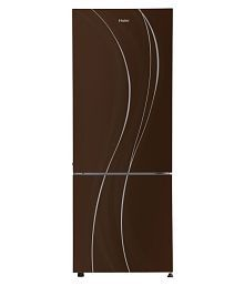 Haier 345 Ltr 3 Star HRB-3654PCG-R Double Door Refrigerator - Brown