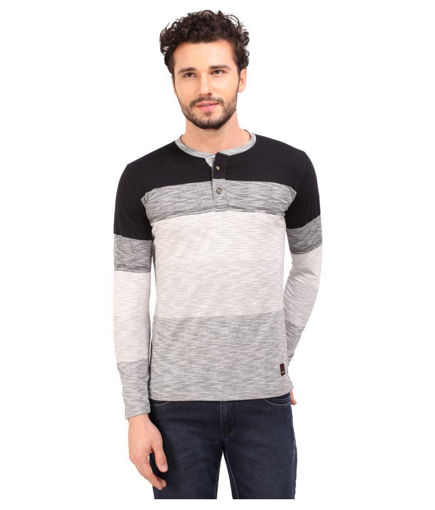 Daagwood Black Round T-Shirt