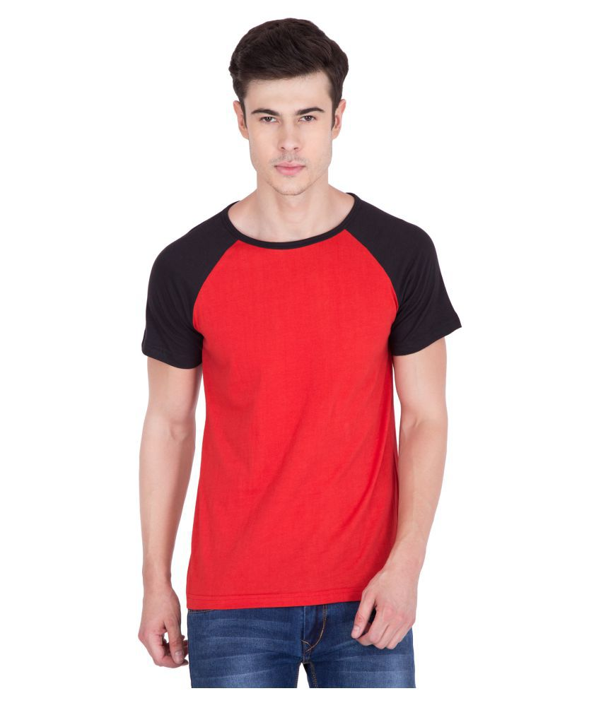 PAUSE Red Round T-Shirt