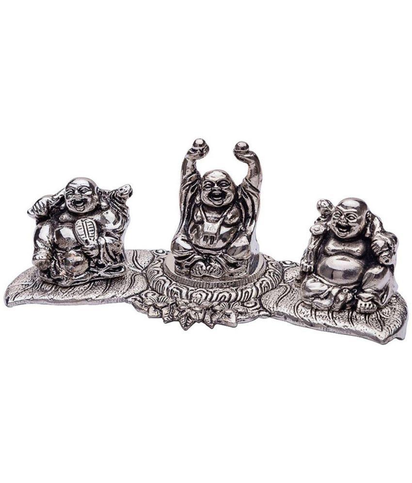 INTERNATIONAL GIFT Buddha Aluminium Idol