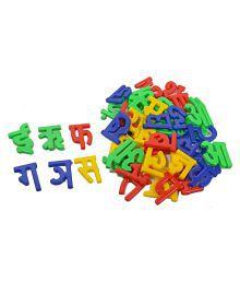 learning creative hindi alphabet a aa e toy block set