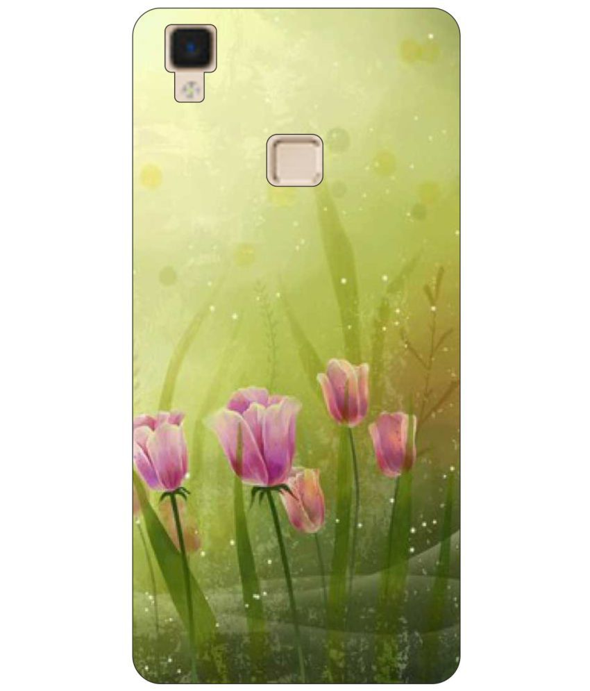 Vivo V3 Printed Cover By Go Hooked