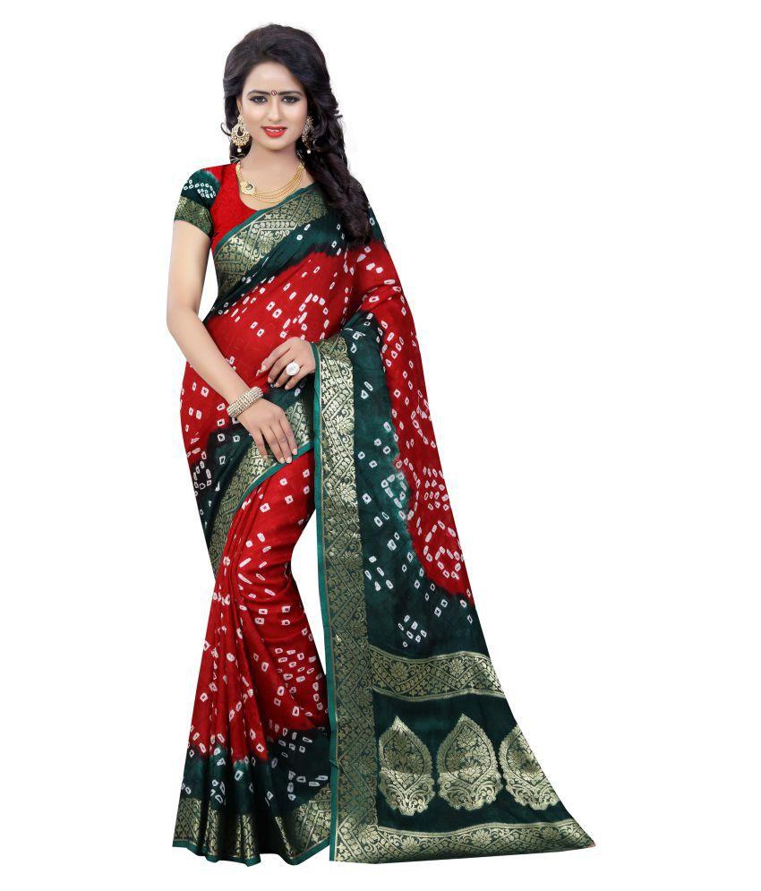 Dealsure Multicoloured Art Silk Saree