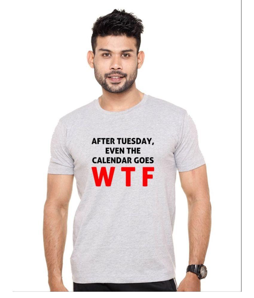 Ejebo Grey Round T-Shirt