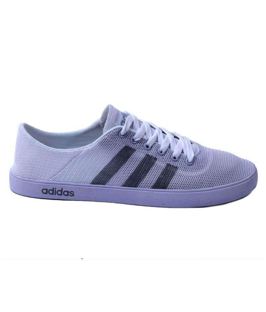 later official store autumn shoes Adidas Neo 1 White Casual Shoes