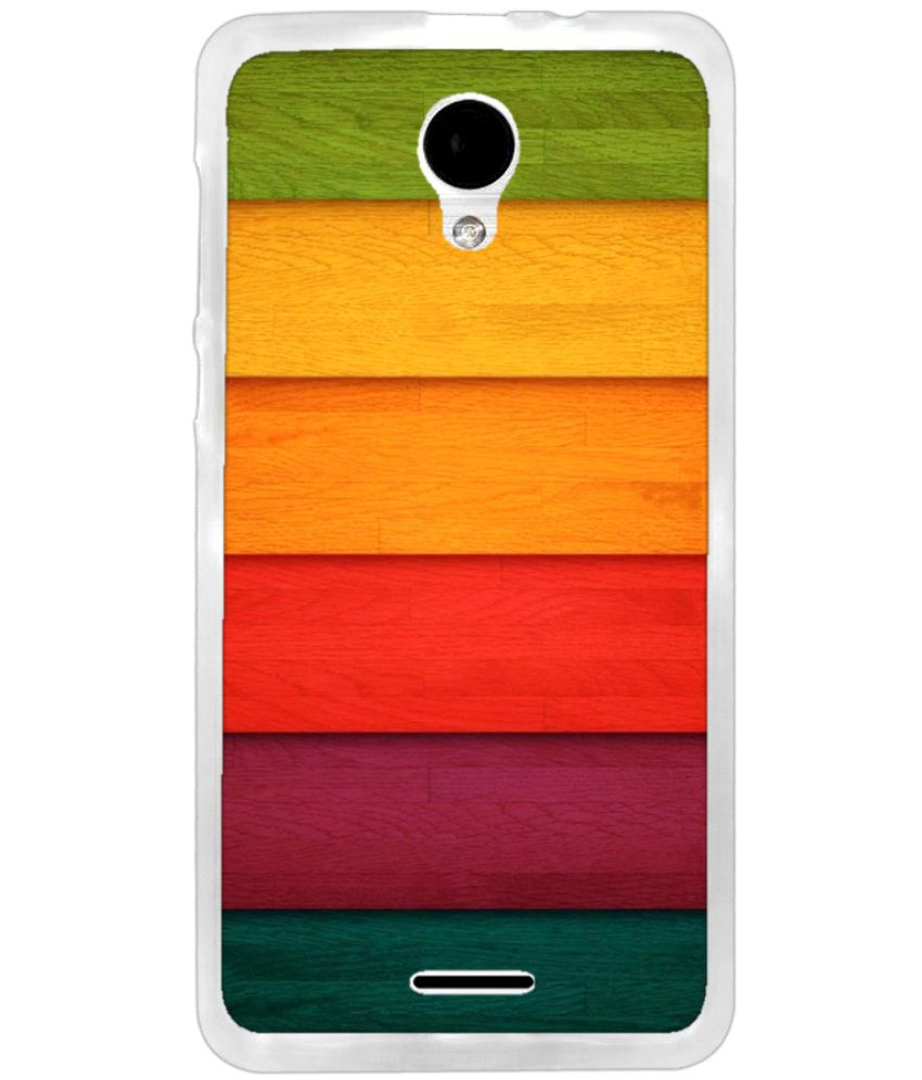 Intex Aqua Q7 Pro Printed Cover By instyler