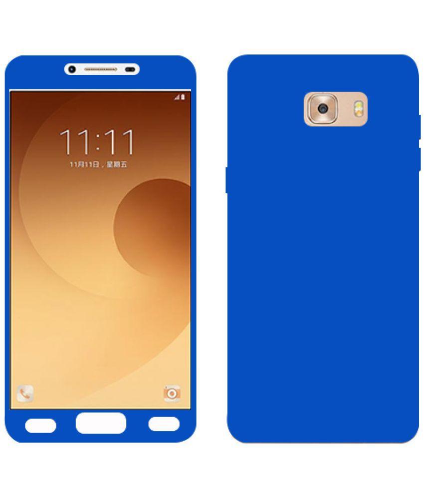 Samsung Galaxy C9 Pro Plain Cases Kosher Traders - Blue