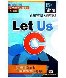 LET US C - 15TH EDITION BY YASHAVANT KANETKAR