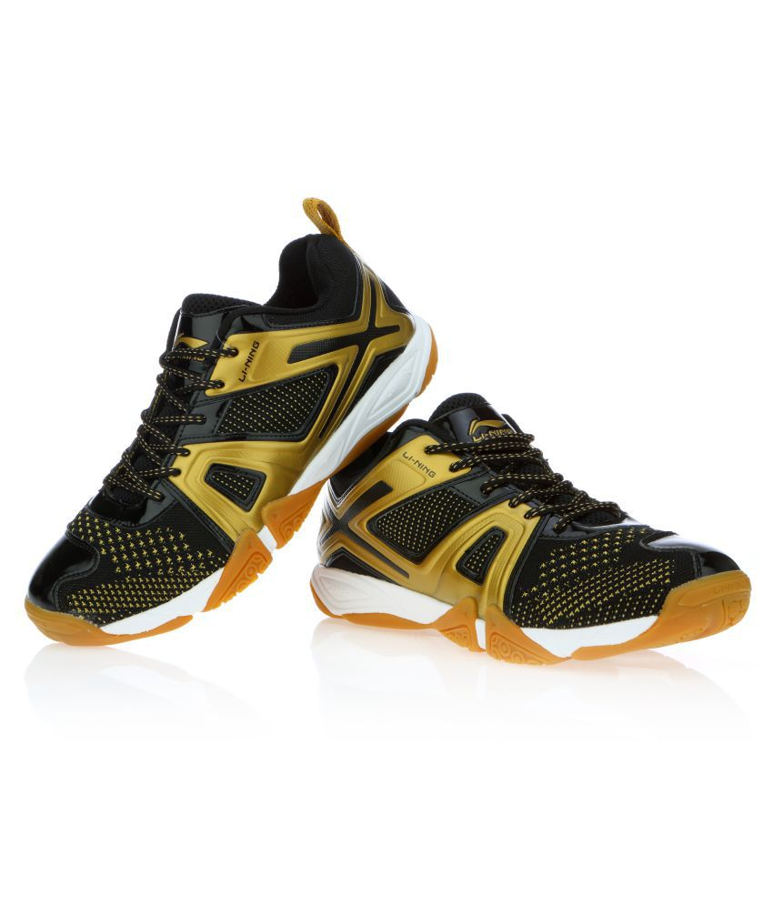 07ed3e2efc6c4e Li-Ning OMEGA Black Indoor Court Shoes .