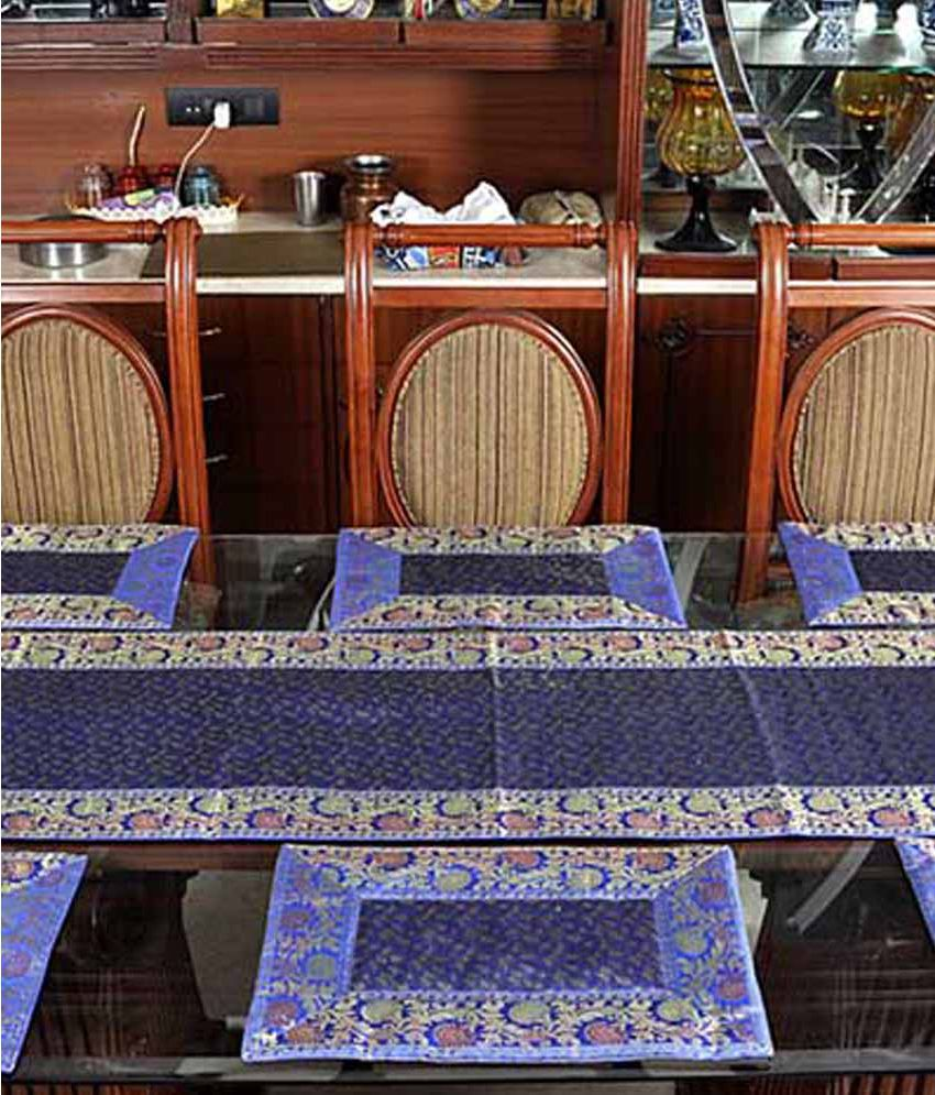 Lal Haveli Dining Table Runners Linen