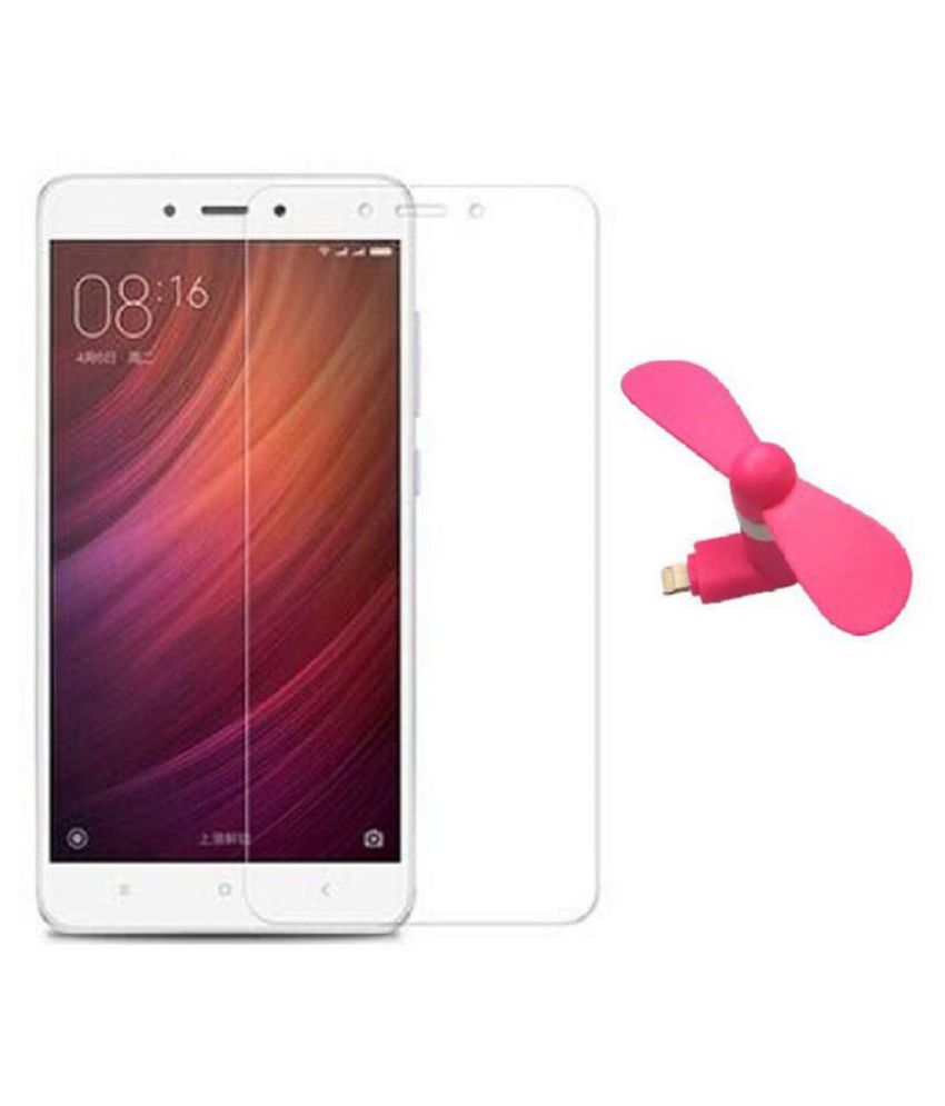 Xiaomi Redmi Note 4 Tempered Glass Screen Guard By Robux 4D