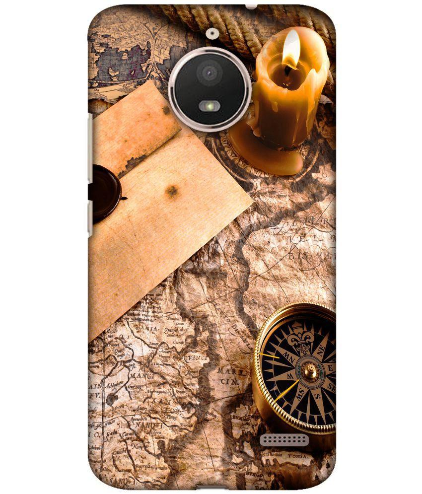 Motorola Moto E4 Printed Cover By Blutec