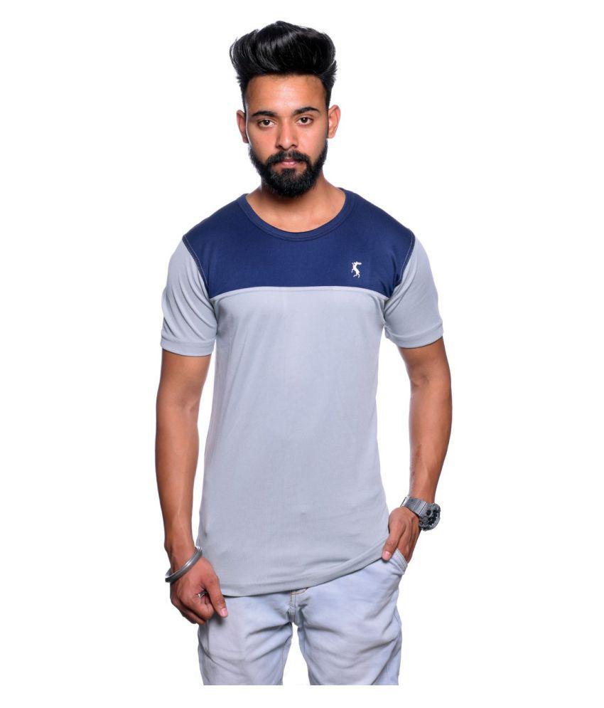 Illusion Multi High Neck T-Shirt