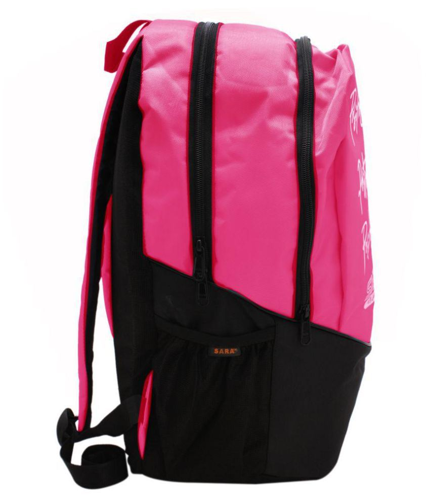 df77be520a8dc Sara bags School Bag College Bags Backpack Pink - Buy Sara bags ...