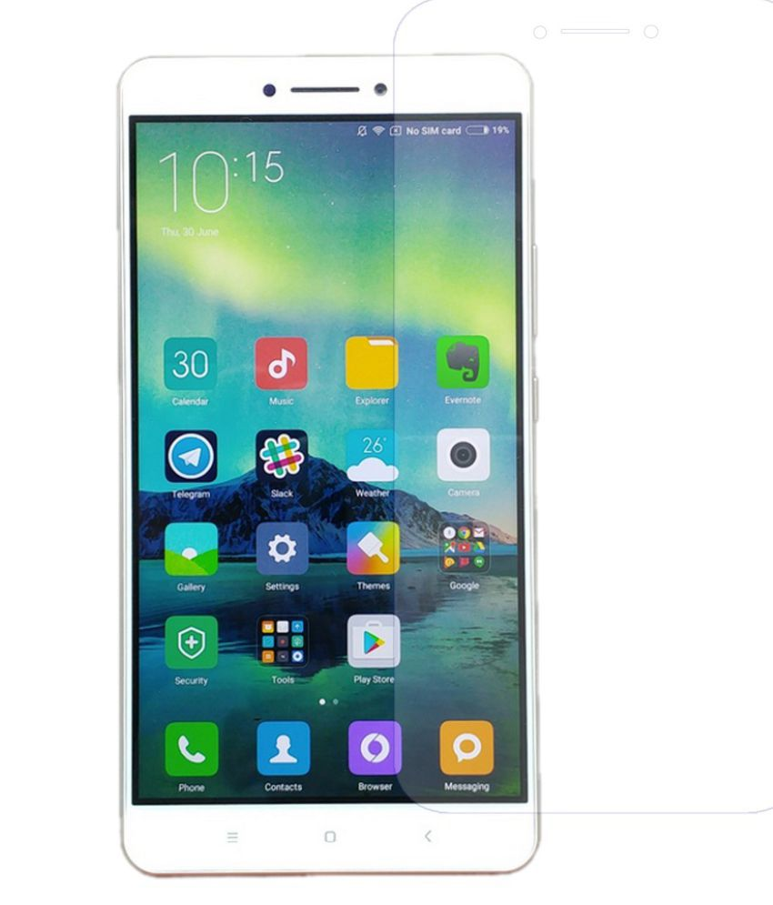 Xiaomi Redmi 3s Prime Tempered Glass Screen Guard By Robux 4D