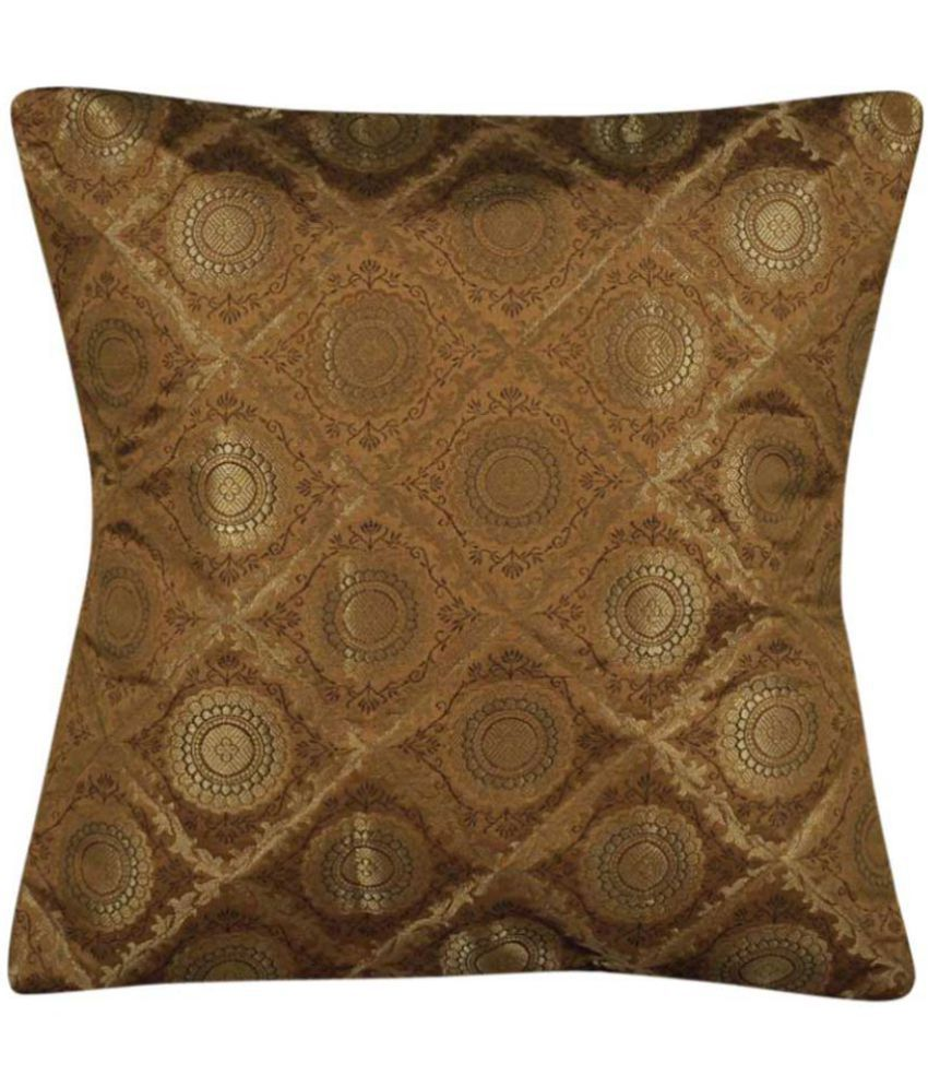 Lal Haveli Single Silk Cushion Covers 40X40 cm (16X16)