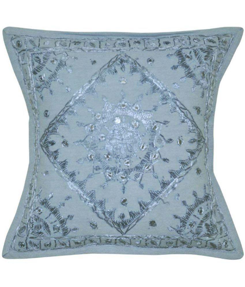 Lal Haveli Single Cotton Cushion Covers 40X40 cm (16X16)