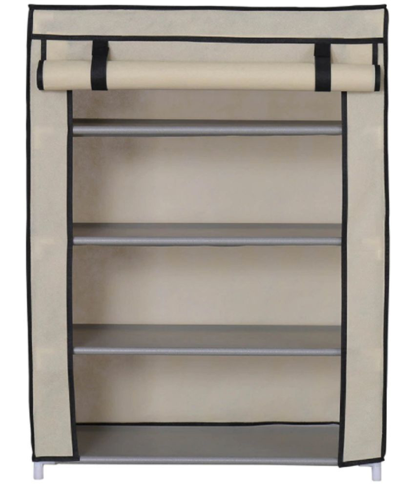 foldable shoe rack closet organizer multipurpose 4 layer storage rh snapdeal com