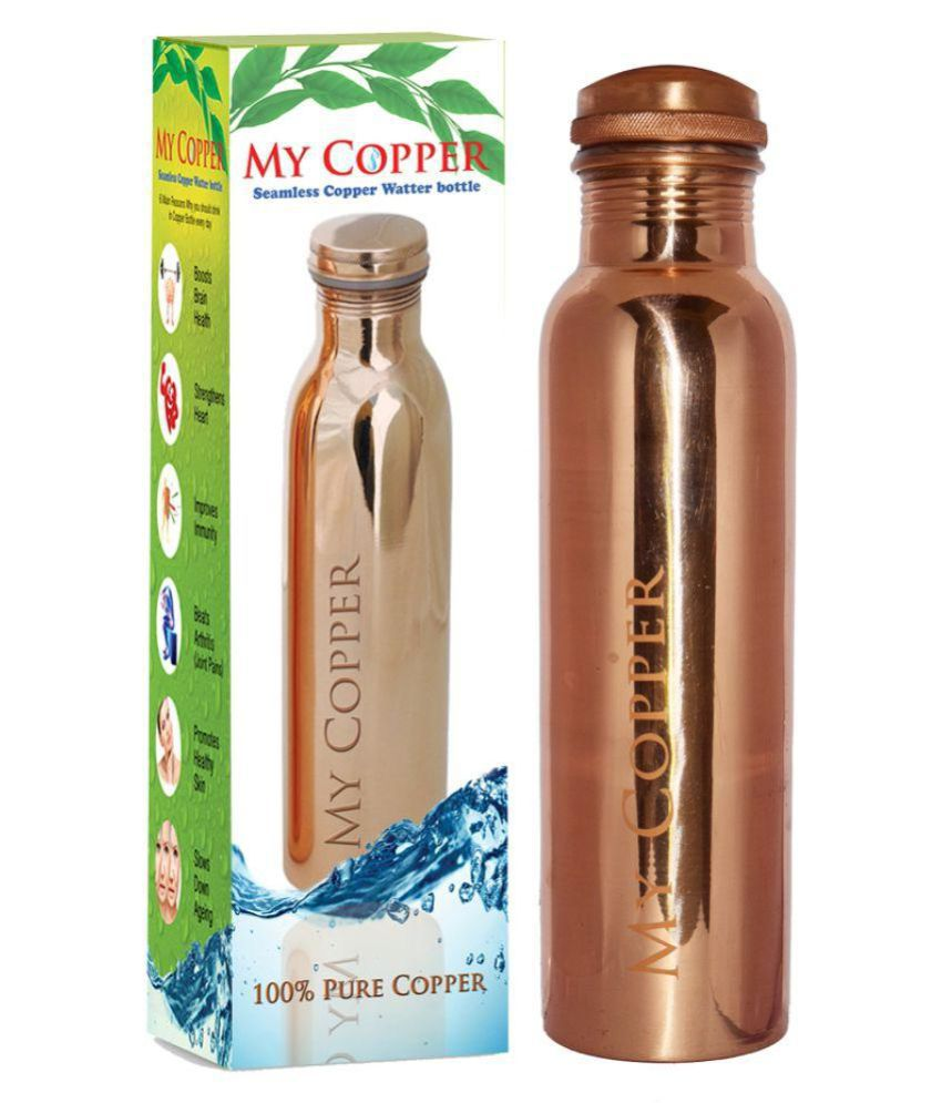My Copper 950 ml Bottle Sipper for Health and Fitness