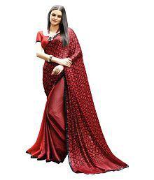 5d96ae7da5 Satin Saree: Buy Satin Saree Online in India at low prices - Snapdeal