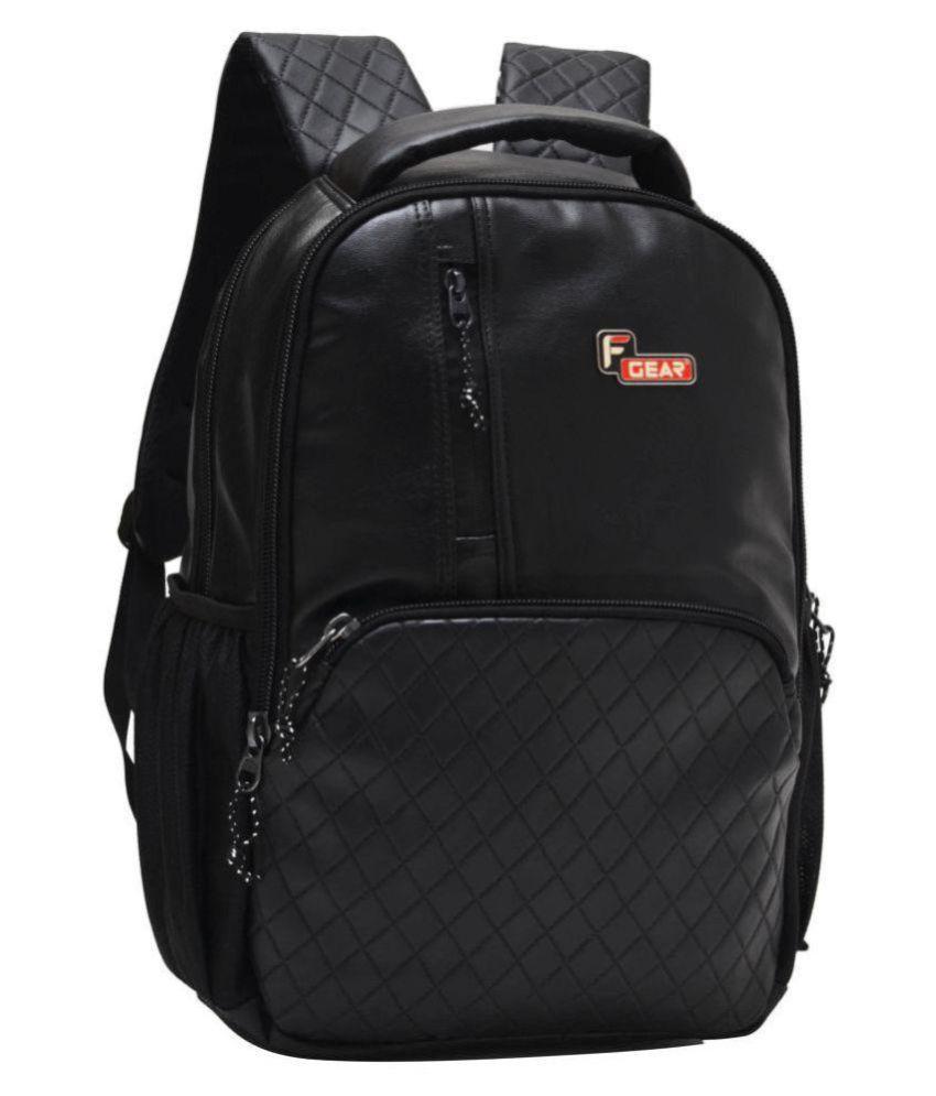 F Gear Black Laptop Bags