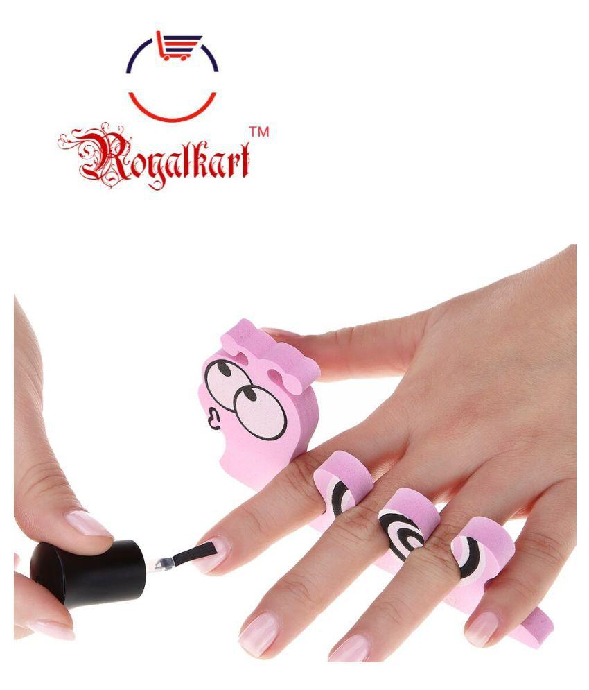 Royalkart Nail Art Stamping Kit 5 Plate Nails 8 Nos 3d Rubber Fruit