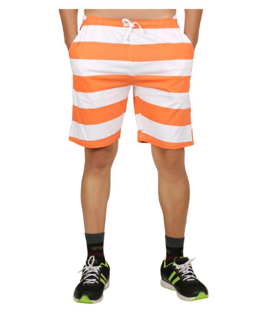 Clifton Orange Shorts