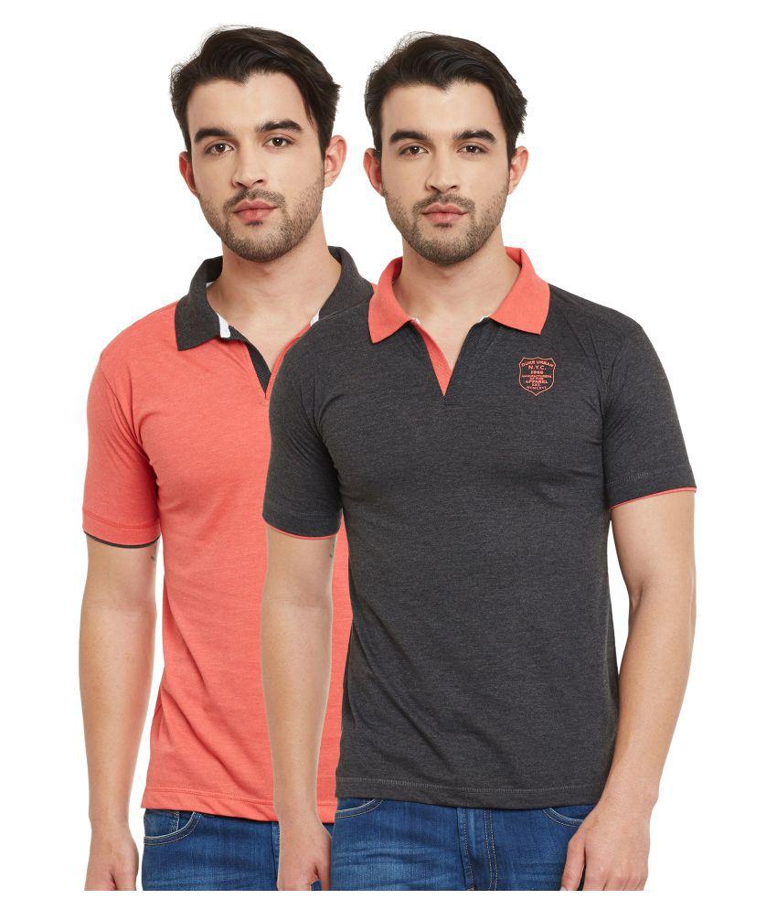 Duke Multi V-Neck T-Shirt