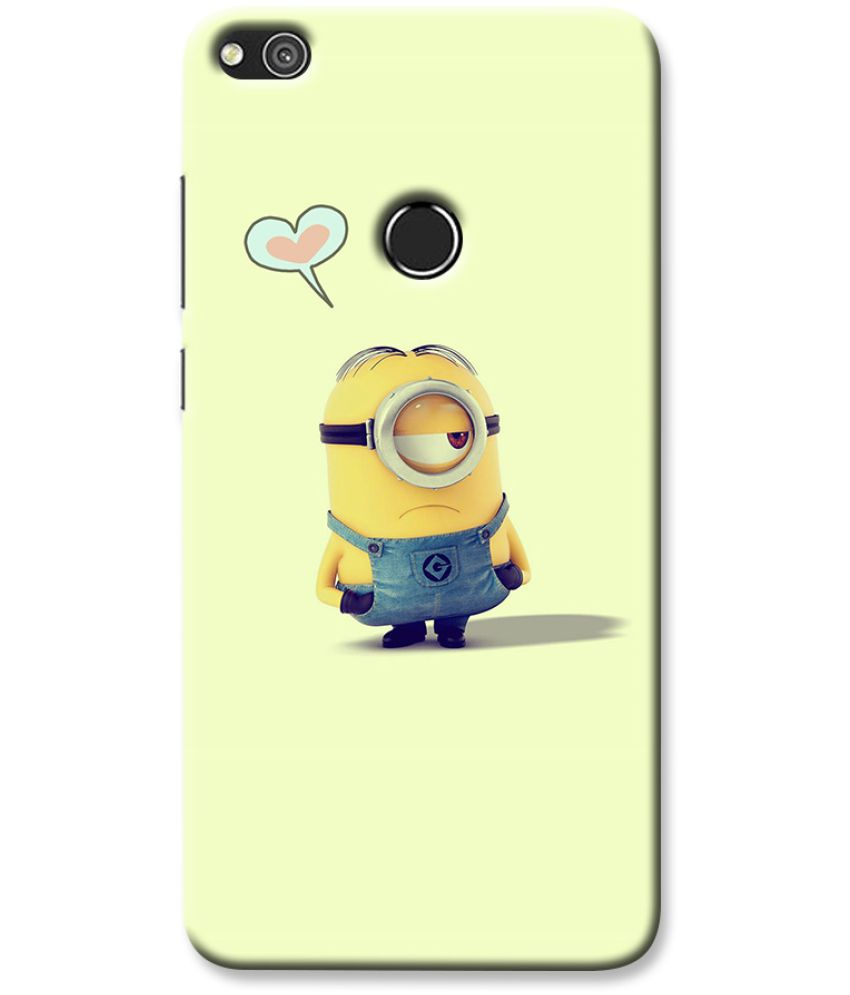 Huawei Honor 8 Lite Printed Cover By Case King