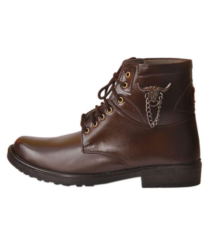 gambol shoe Brown Party Boot
