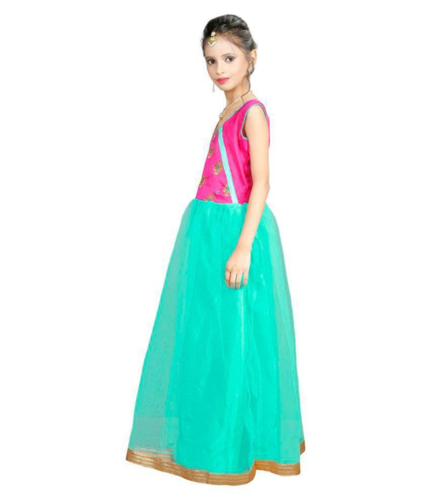 282d6b51a2d ... Fashion Vogue Princess Baby Girls Birthday Party wear Dress(Baby Girl s   8-12 Years ...