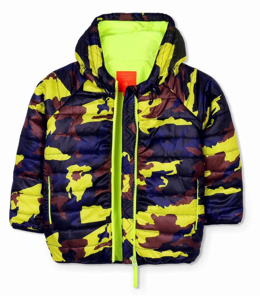 Cherry Crumble Camper Camo Jacket