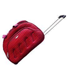 Pride Maroon Solid Duffle Bag