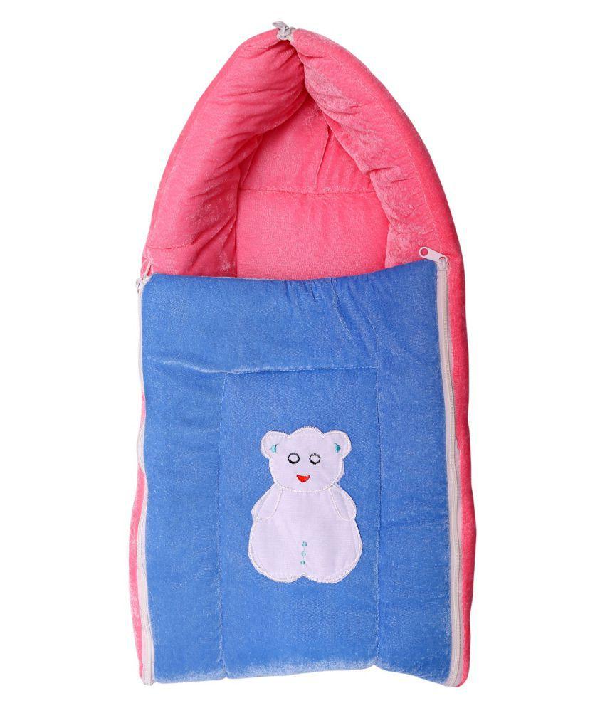 BcH Pink Cotton Sleeping Bags ( 64 cm × 41 cm)