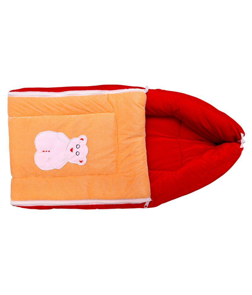 BcH Red Cotton Sleeping Bags ( 64 cm × 41 cm)
