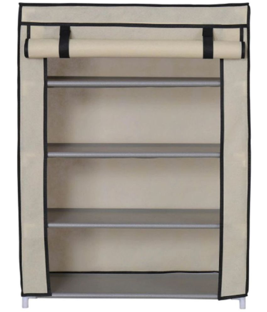 Foldable Shoe Rack 4 Layer Closet Organizer Collapsible Almirah Shelf  Multipurpose 4 Layer Storage Organizer Shoe ... Part 35