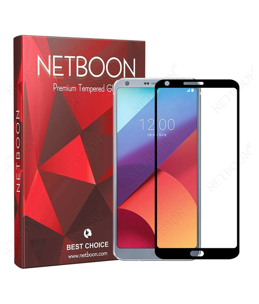 LG G6 Tempered Glass Screen Guard By NETBOON