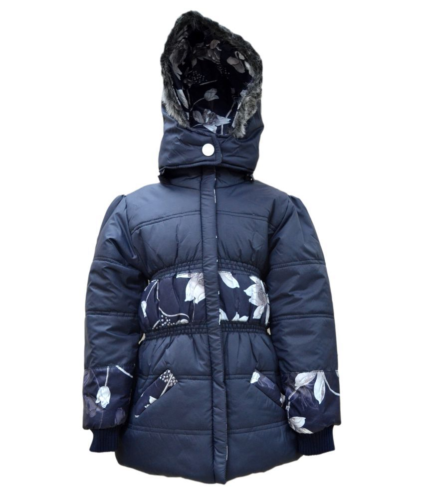 Come In Kids Full Sleeve Printed Girls Quilted Jacket