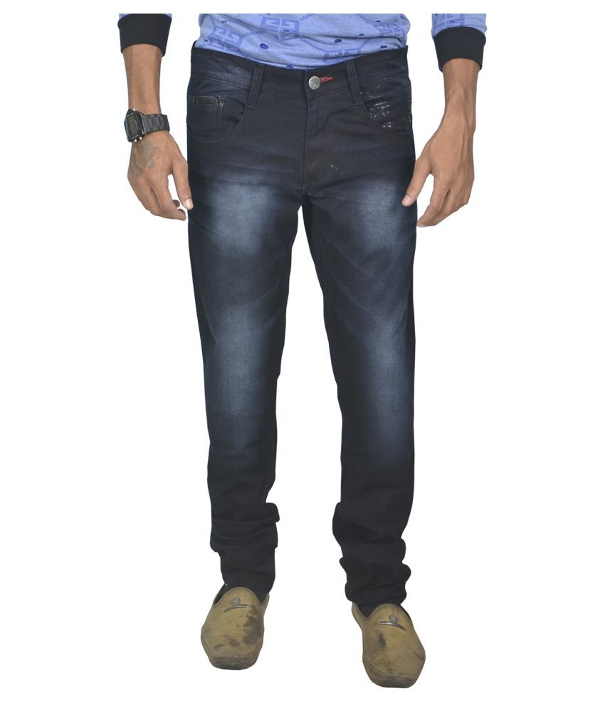 Dynamic Culture Black Slim Jeans