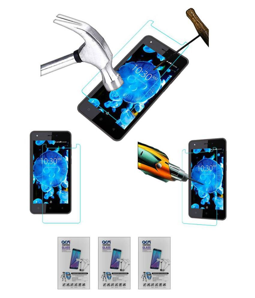 Karbonn K9 Kavach Tempered Glass Screen Guard By ACM