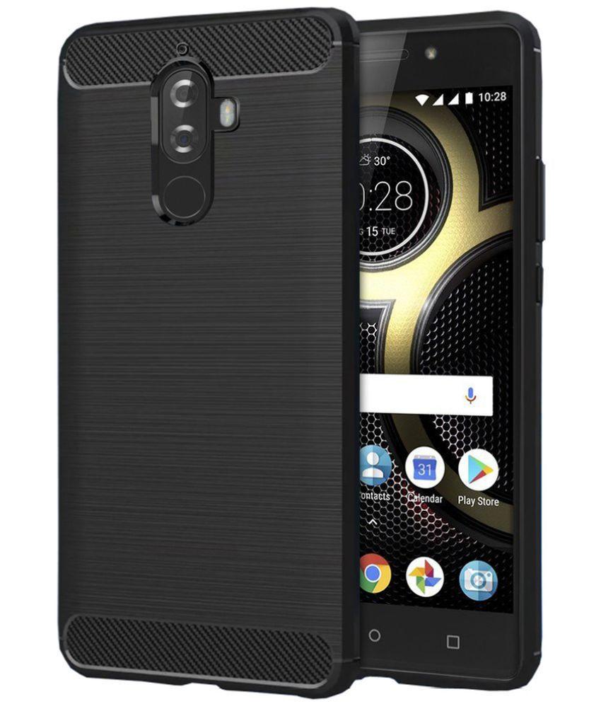 promo code 8dbab 2767b Lenovo K8 Note Shock Proof Case Knotyy - Black