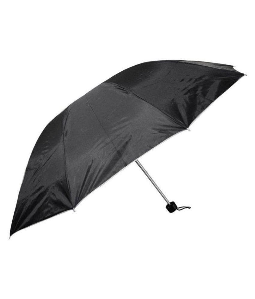 Skycandle Black 3 Fold Umbrella