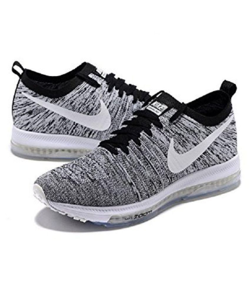 94ad185f819c1 Nike 2018 Flynit Zoom All Out Running Shoes - Buy Nike 2018 Flynit Zoom All  Out Running Shoes Online at Best Prices in India on Snapdeal