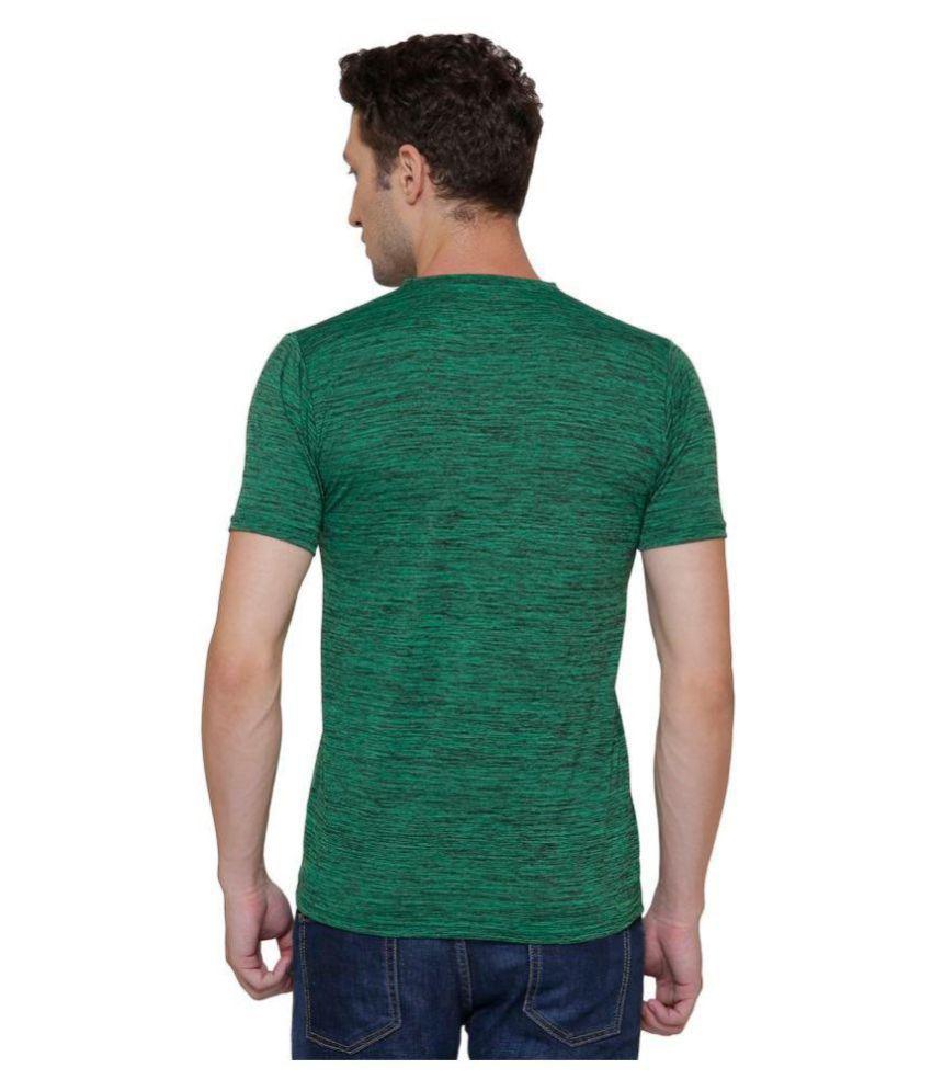 Pali Green V-Neck T-Shirt