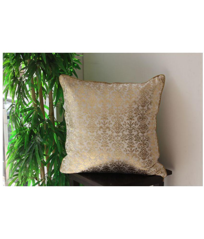Vellum Single Velvet Cushion Covers 60X60 cm (24 X 24)