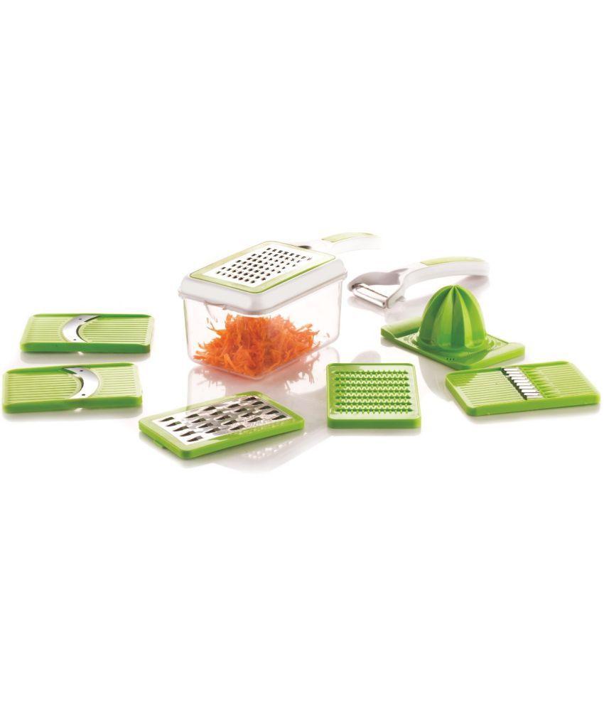 Magikware Master Kitchen Combo Set - Juicer, 8 in 1 slicer, Quick ...